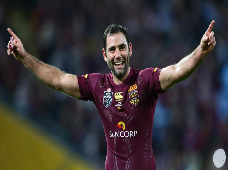 Cameron Smith red jersey