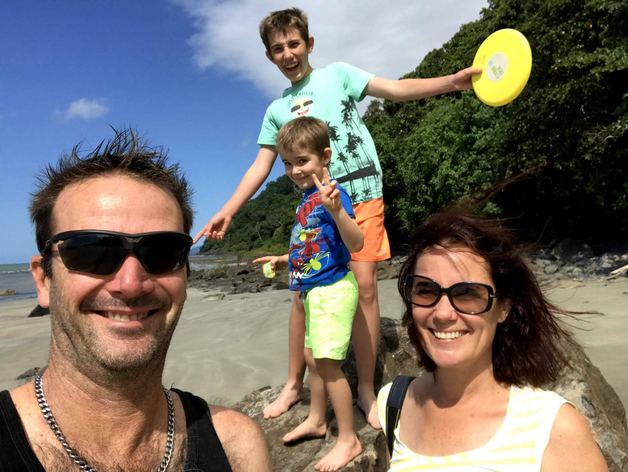 Joel-Farmer-enjoying-some-family-time-while-visiting-the-1300-4-Gardening-Cairns-branch-scaled